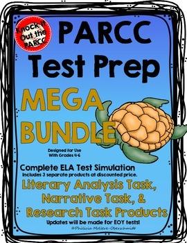 PARCC TEST PREP ELA MEGA BUNDLE: Sea Turtles