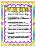 PARCC TEST TAKING STEPS for the PBA