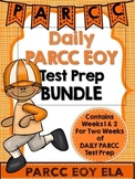 PARCC Test Prep End of Year Bundle Weeks 1 and 2