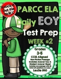 PARCC Test Prep End of Year Weekly Practice Set 2