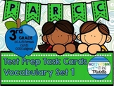 PARCC Test Prep GRADE 3 Vocabulary Task Cards A/B Format