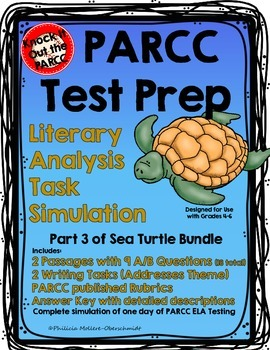 PARCC Test Prep Literary Analysis Task, Sea Turtle Part 3