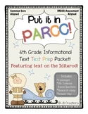 *PARCC Test Prep Pack for 4th Grade Informational Text