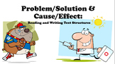 Problem/Solution Cause/Effect Text Structure Test Prep ppt