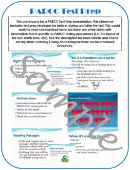 PARCC Test Prep Standardized testing procedures tips tricks and preparation