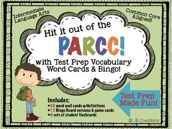 PARCC Test Prep Vocabulary Practice Pack for Intermediate
