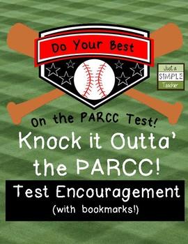 PARCC Testing Encouragement Pack- Song, Bookmarks, Handouts