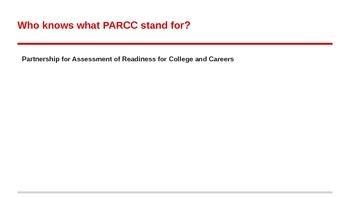 PARCC Training Grade 5-6