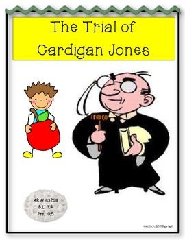 Common Core/PARCC Writing Prompt:  The Trial of Cardigan Jones