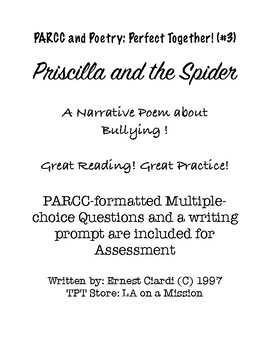 PARCC and Poetry: Perfect Together! (#3)