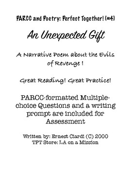 PARCC and Poetry: Perfect Together! (#4) An Unexpected Gift