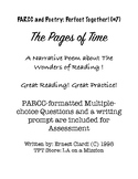 PARCC and Poetry: Perfect Together! (#7) The Pages of Time