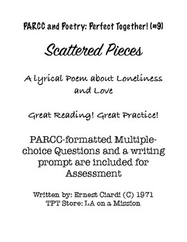 PARCC and Poetry: Perfect Together! (#9) Scattered Pieces