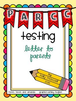 PARCC Letter