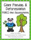PARCC like Assessment: Giant Pandas and Deforestation