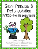PARCC like Assessment: Giant Pandas and Deforestation