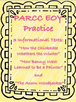 PARCC-like EOY Assessment Practice