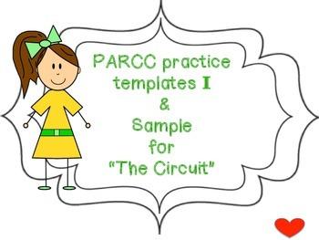 PARCC practice templates I