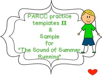 PARCC practice templates II