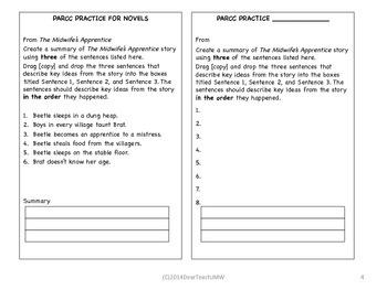 PARCC practice templates V