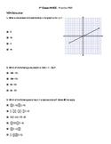PARCC practice test for 7th Math PBA/MYA