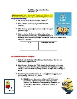 PARCC reading test action plan