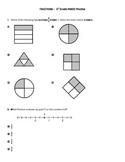 PARCC style questions --Fractions