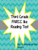 PARCC test prep Christmas themed Grade 3
