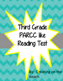 PARCC test prep Christmas themed Grade 3