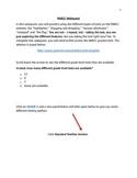 PARCC test prep webquest