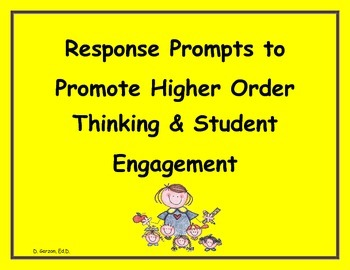 PARCC/CCR:Response Prompts to Promote Student Engagement
