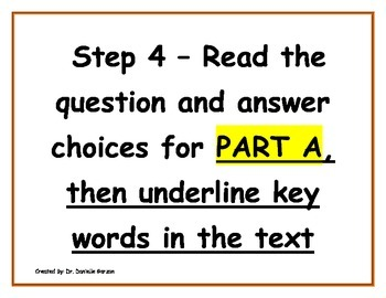 PARCC,COMMON CORE & WRITING TO SOURCES SELECTIVE RESPONSE ANCHOR CHART