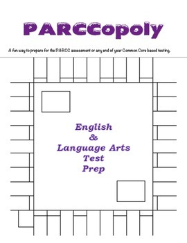 PARCCopoly: English and LA Test Prep (Common Core Based Game)