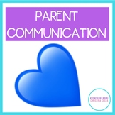 PARENT COMMUNICATION NOTES HOME {FREEBIE}