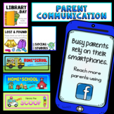 PARENT COMMUNICATION Smartphones Class Facebook Group