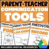 PARENT-TEACHER COMMUNICATION BUNDLE Parent Communication F