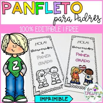 PARENTS HANDBOOK/ PANFLETO CON INFO PARA PADRES