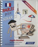 PARIS PAR SOURIS reproducible worksheets internet exercises Core French INCLship