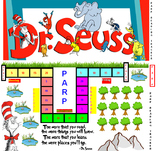 PARP Dr. Suess Themed Reading Minutes Tracker Recorder
