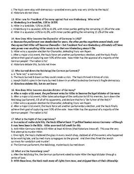 PART II. A Low, Dishonest Decade Test, 1929-1939 Exam