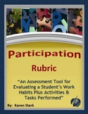 "ASSESSMENTS: ""Participation Rubric for Tasks/Activity Comp"