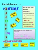 PARTICIPLES are . . .