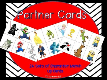 PARTNER CARDS {Fun for all ages!}