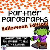 PARTNER PARAGRAPHS  **Halloween Edition**