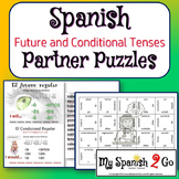 PARTNER PUZZLES--Review or Comparison of the Future Tense