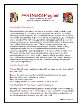 PARTNERS Parent Guide