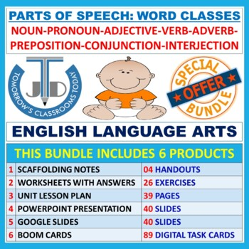 PARTS OF SPEECH: BUNDLE