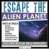 PARTS OF SPEECH ESCAPE ROOM BELL RINGERS