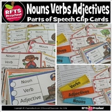 PARTS OF SPEECH: CLIP-a-CARD (LANGUAGE CENTER)
