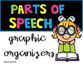 PARTS OF SPEECH GRAPHIC ORGANIZERS